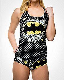 Batman Pow Tank and Panty Set