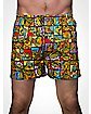 Teenage Mutant Ninja Turtles Block Collage Mens Boxers