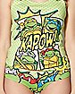 TMNT Ladies Tank Top and Panties Set