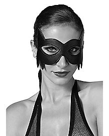 Faux Leather Cat Eye Mask