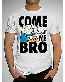 Adventure Time Come at Me Bro T shirt