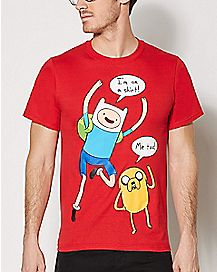 Jake & Finn Adventure Time T shirt