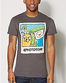 Photobomb Adventure Time T shirt