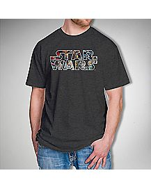 Logo Star Wars T shirt