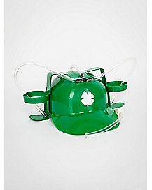 Irish Clover St. Patrick's Day Drinking Hat