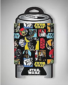 Collage Star Wars Can Cooler
