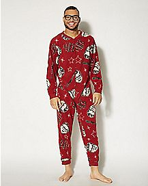 Adult A Christmas Story One-Piece Pajamas