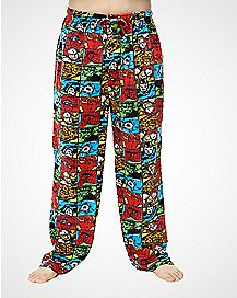 Square Collage Comic Lounge Pants -  Marvel Comics