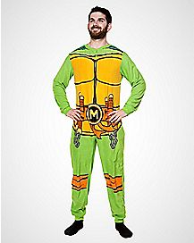 Teenage Mutant Ninja Turtles Mens One Piece Pajamas