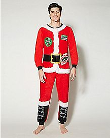 Adult Christmas Vacation One-Piece Pajamas