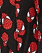 Adult Spiderman One-Piece Pajamas