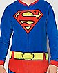 Superman Unisex One Piece Pajamas