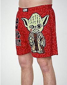 Yoda Knit Boxer