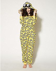 Adult Despicable Me Pajama Costume