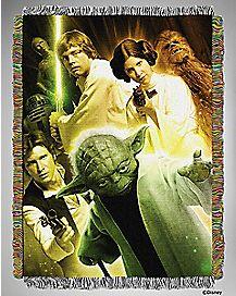Classic Rebels Star Wars Tapestry Throw Blanket