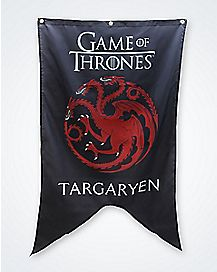 Game of Thrones 30 X 50 Targaryen Banner