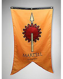 Game of Thrones 30 X 50 Martell Banner