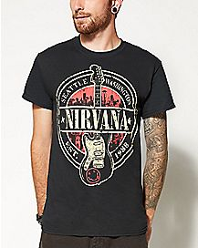 1988 Guitar Nirvana T shirt