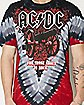 Cannon V-Dye ACDC T shirt
