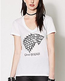 House Stark Sigil Game of Thrones T shirt