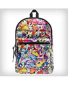 My Little Pony Print Puffy Backpack