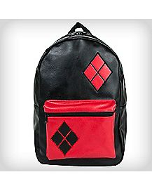 Harley Quinn Fabric Backpack