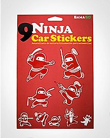 Ninja Car Stickers