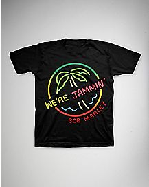 We're Jammin' Bob Marley Toddler T shirt