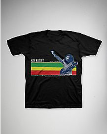 Stripe Bob Marley Toddler T shirt