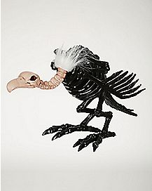 Black Skeleton Vulture - Decorations