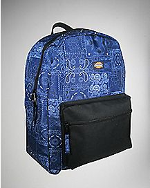 Dickies Bandana Print Backpack - Blue