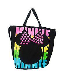 Studded Minnie Mouse Tote Bag