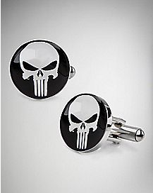 Punisher Face Cufflinks