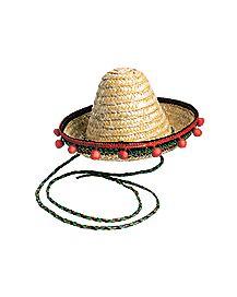 Stringed Mini Sombrero Hat