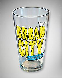 Broad City It's a Whole Thing Pint Glass 16 oz
