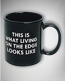 Living on the Edge Broad City Mug - 11 oz.