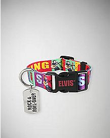Elvis the King Pet Collar