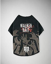 Walker Bait Walking Dead Pet Tee