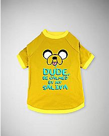 Jake Saliva Adventure Time Pet Tee