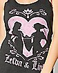 Zelda and Link Tank Top