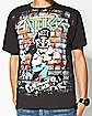 Anthrax Skater Guy T shirt