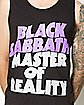 Master Of Reality Black Sabbath Tank Top