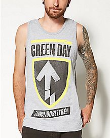 Badge Green Day Tank Top