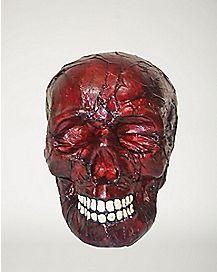 Burnt Skull - Decorations