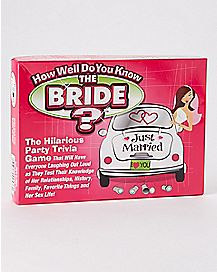 Do You Know the Bride Bachelorette Party Game