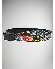 Characters Web Belt - DC Comics