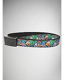 Avengers Collage Belt - Marvel Comics