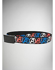 Logo Avengers Web Belt - Marvel Comics