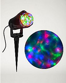 Fire and Ice Multi Color Spot Light