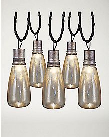 Rusty Attic String Lights